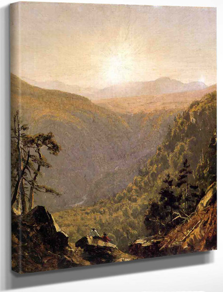 A Sketch In Kauterskill Clove By Sanford Robinson Gifford By Sanford Robinson Gifford