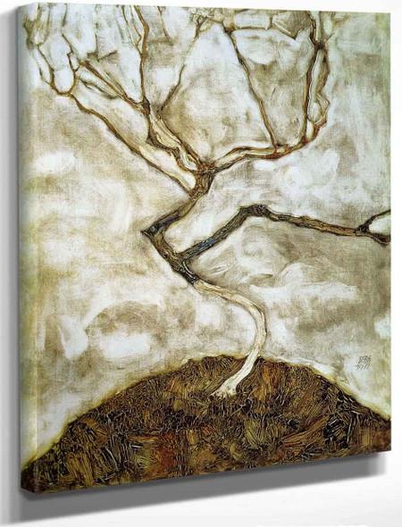 A Tree In Late Autumn By Egon Schiele By Egon Schiele