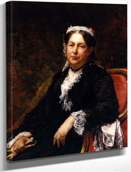 Abigail Brooks Adams By William Morris Hunt By William Morris Hunt