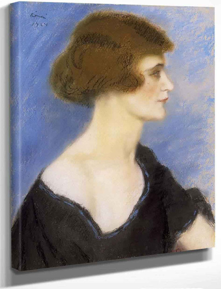 Actress By Jozsef Rippl Ronai By Jozsef Rippl Ronai