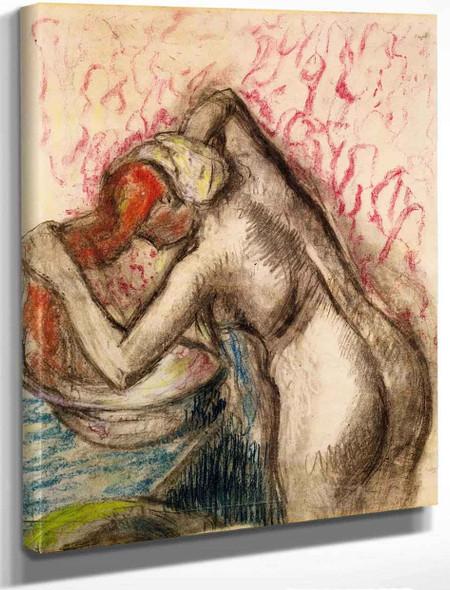 After The Bath4 By Edgar Degas By Edgar Degas