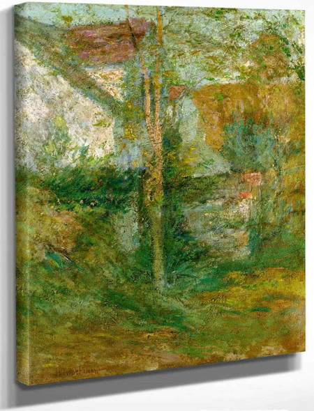 Afternoon Shadows By John Twachtman