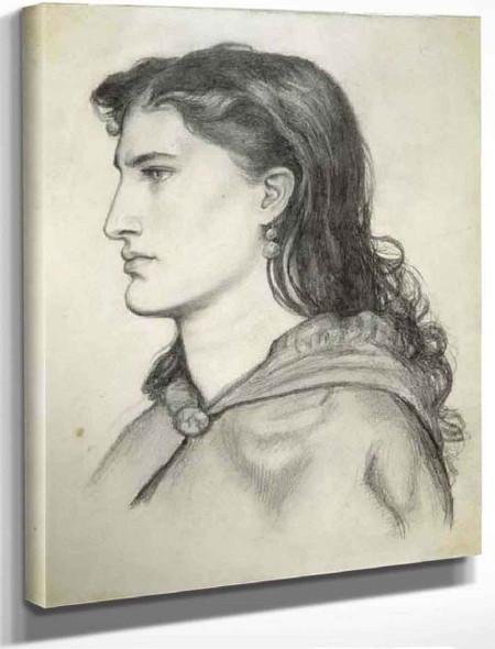 Aggie By Dante Gabriel Rossetti