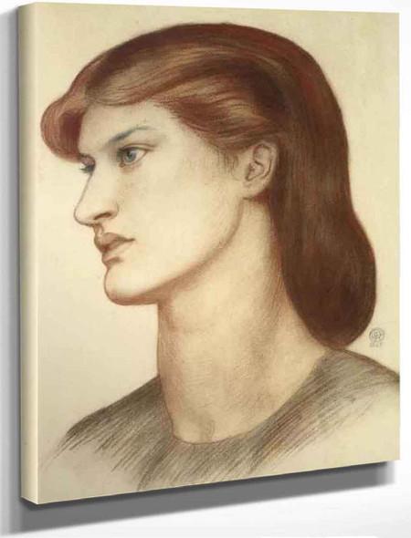 Alexa Wilding3 By Dante Gabriel Rossetti