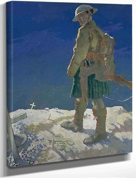 An Onlooker In France By Sir William Orpen By Sir William Orpen