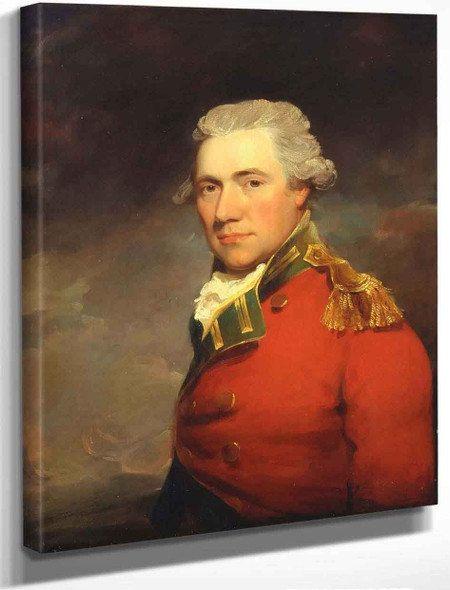 An Unknown British Official By John Hoppner