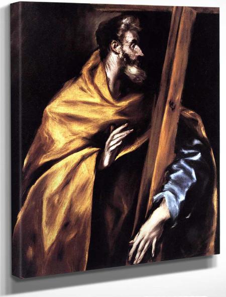 Apostle St Philip By El Greco By El Greco