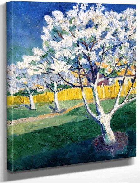 Apple Trees In Bloom By Kasimir Malevich