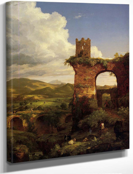 Arch Of Nero By Thomas Cole By Thomas Cole