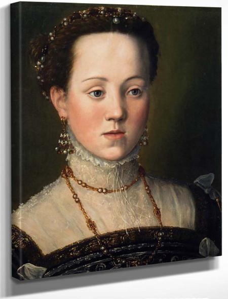 Archduchess Anna, Daughter Of Emperor Maximillian Ii By Giuseppe Arcimboldo