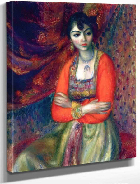 Armenian Girl By William James Glackens By William James Glackens