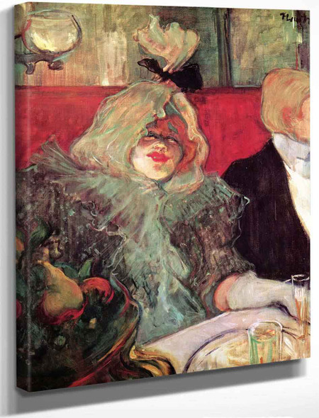 At The Rat Mort By Henri De Toulouse Lautrec