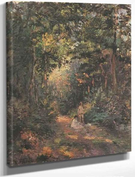 Autumn By Camille Pissarro By Camille Pissarro