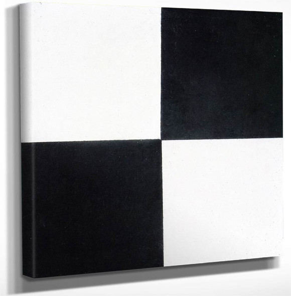 Four Squares By Kasimir Malevich Art Reproduction