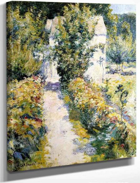 Azaleas By John Twachtman