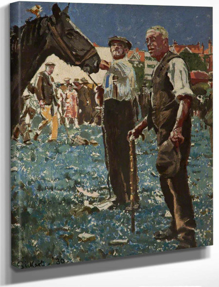 Barnet Fair, Hertfordshire By Walter Richard Sickert By Walter Richard Sickert