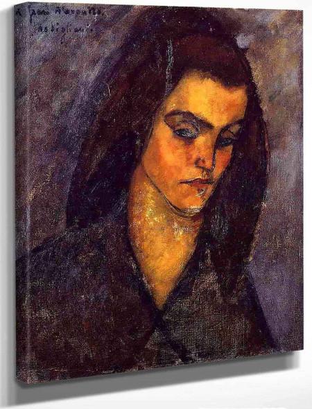 Beggar Woman By Amedeo Modigliani By Amedeo Modigliani