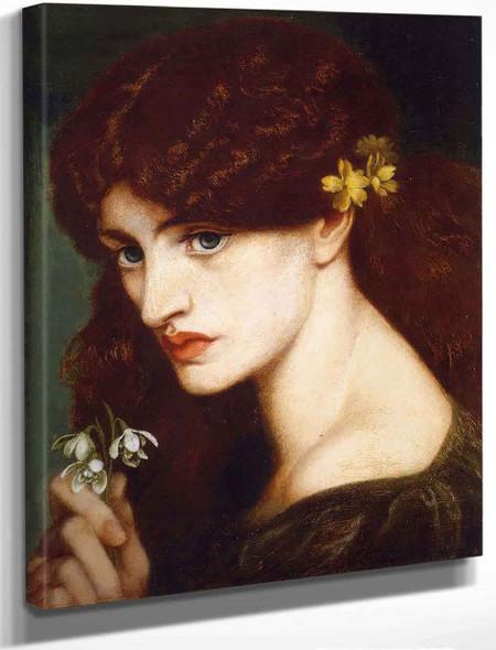 Blanzifiore By Dante Gabriel Rossetti