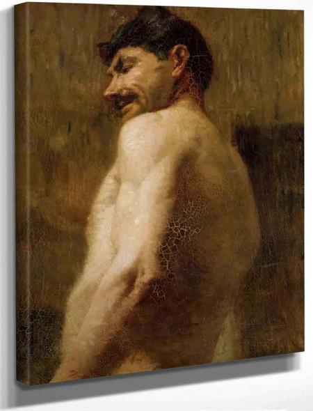 Bust Of A Nude Man By Henri De Toulouse Lautrec