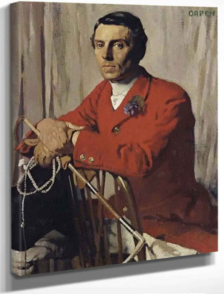 Captain John Shawe Taylor By Sir William Orpen By Sir William Orpen