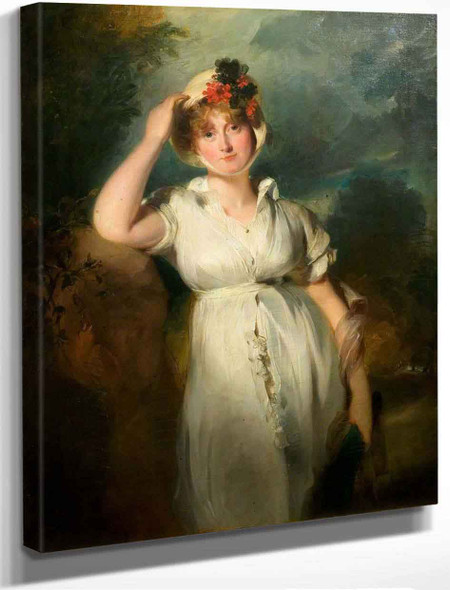 Caroline Of Brunswick , Queen Of George Iv By Sir Thomas Lawrence
