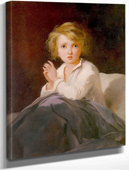 Child In Bed By Thomas Sully