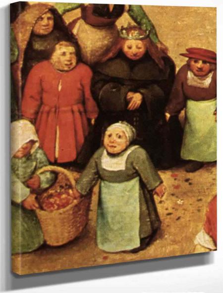 Childrens Games 111111 By Pieter Bruegel The Elder By Pieter Bruegel The Elder