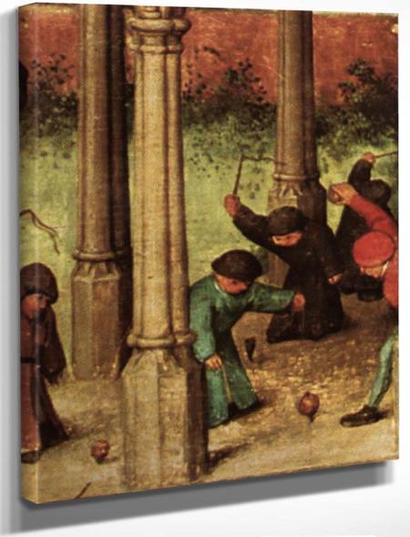 Childrens Games 11111 By Pieter Bruegel The Elder By Pieter Bruegel The Elder