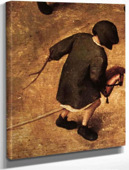 Childrens Games 1111 By Pieter Bruegel The Elder By Pieter Bruegel The Elder