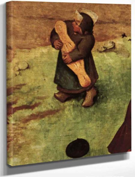 Childrens Games 111 By Pieter Bruegel The Elder By Pieter Bruegel The Elder