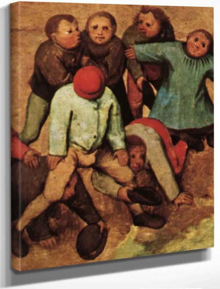 Childrens Games 11 By Pieter Bruegel The Elder By Pieter Bruegel The Elder