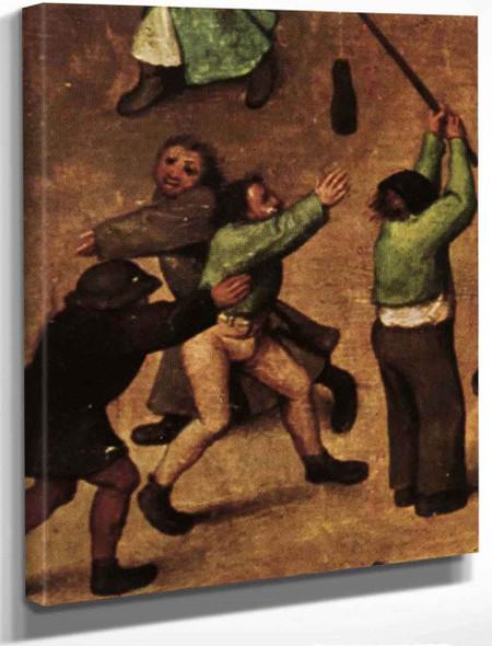 Childrens Games 15 By Pieter Bruegel The Elder By Pieter Bruegel The Elder