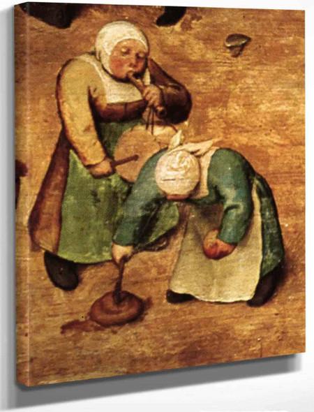 Childrens Games 16 By Pieter Bruegel The Elder By Pieter Bruegel The Elder