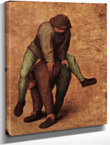 Childrens Games 2 By Pieter Bruegel The Elder By Pieter Bruegel The Elder
