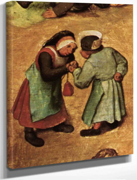 Childrens Games 19 By Pieter Bruegel The Elder By Pieter Bruegel The Elder