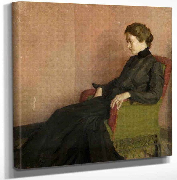 Grace Canedy By Harold Gilman Art Reproduction