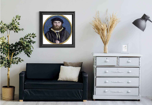 Hans Of Antwerp By Hans Holbein The Younger Art Reproduction