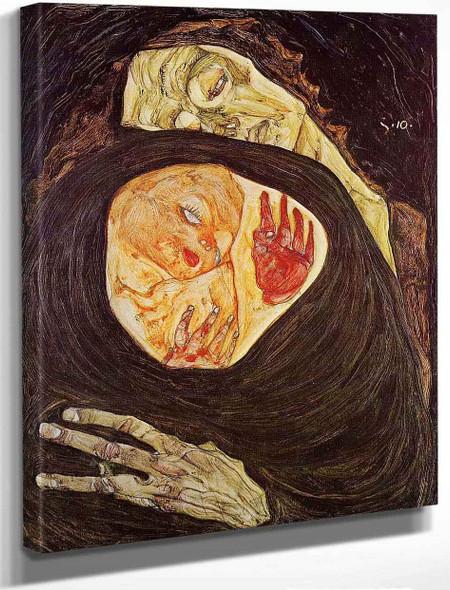 Dead Mother By Egon Schiele By Egon Schiele