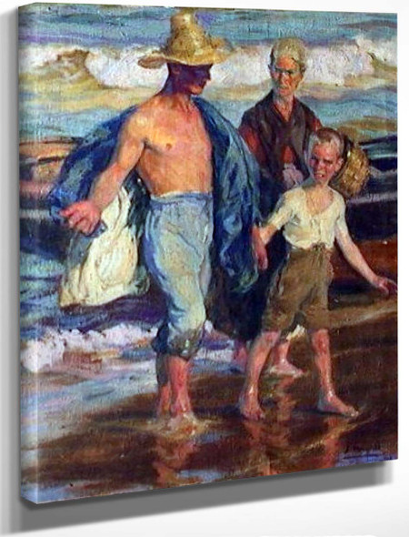 Despues De La Pesca By Jose Mongrell Torrent
