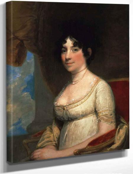 Dolley Payne Todd Madison By Gilbert Stuart