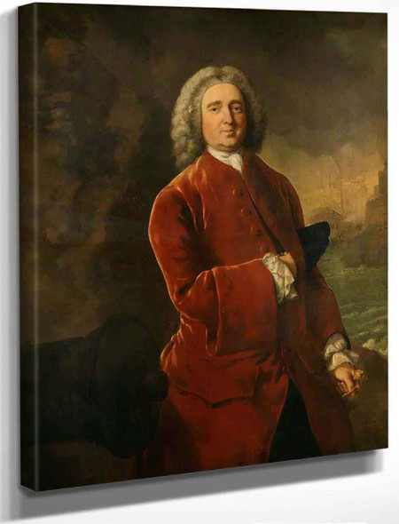 Edward Vernon By Thomas Gainsborough By Thomas Gainsborough