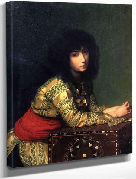 Egyptian Girl By Jean Leon Gerome By Jean Leon Gerome