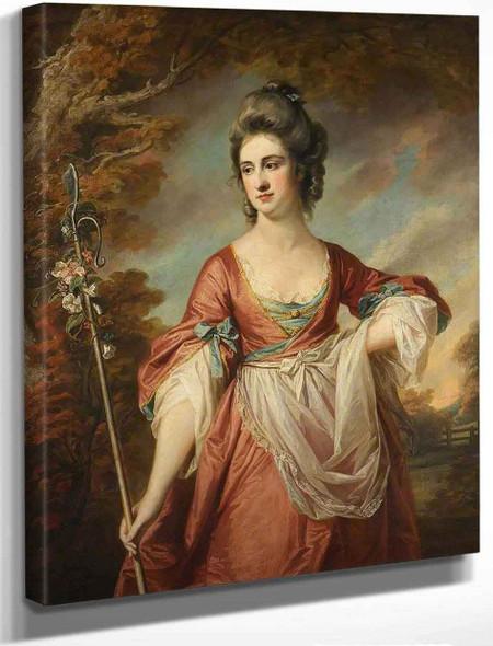 Elizabeth Cust By Francis Cotes, R.A. By Francis Cotes, R.A.