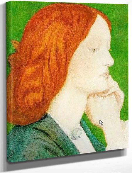 Elizabeth Siddal5 By Dante Gabriel Rossetti