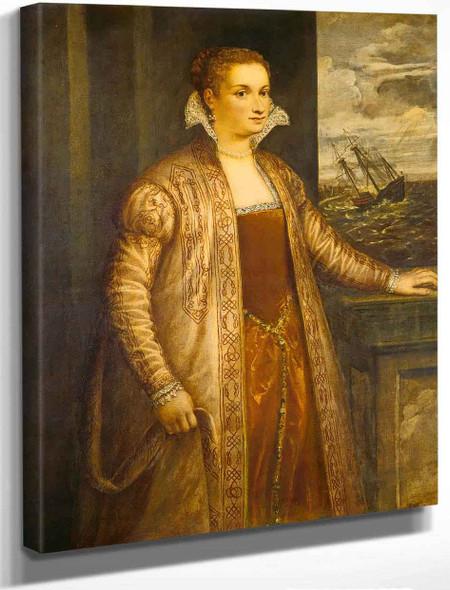 Emilia Di Spilimbergo By Titian
