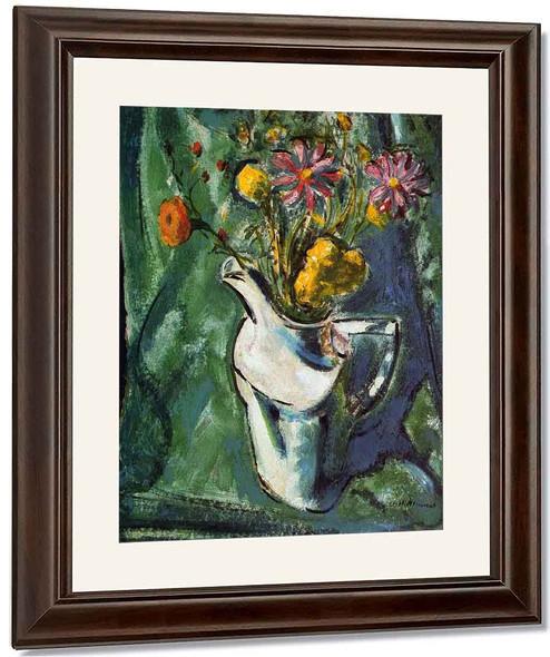 Floral Still Life1 By Alfred Henry Maurer By Alfred Henry Maurer
