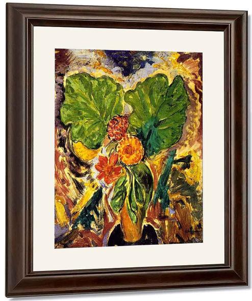 Floral Still Life2 By Alfred Henry Maurer By Alfred Henry Maurer