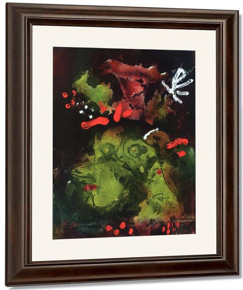 Frau Im Sontagsstat By Paul Klee By Paul Klee