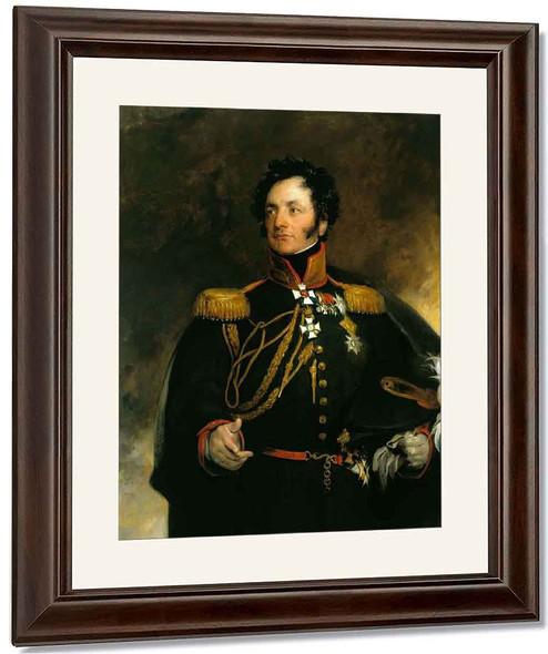 General Theodore Petrovitch Uvarov By Sir Thomas Lawrence