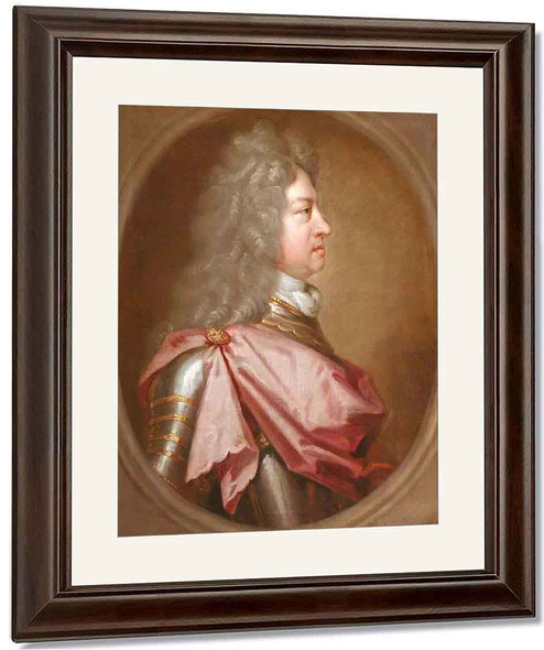George I In Profile, 'The Coin Portrait' By Sir Godfrey Kneller, Bt. By Sir Godfrey Kneller, Bt.